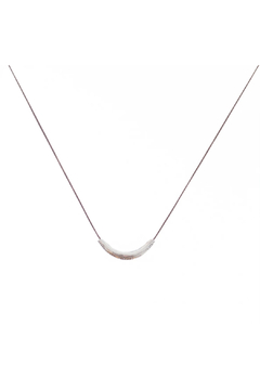 Bronwen Tiny Charm Thai Smile Necklace - Product List Image