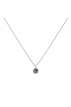 Bronwen Tiny Charm Wave Necklace - Product List Image