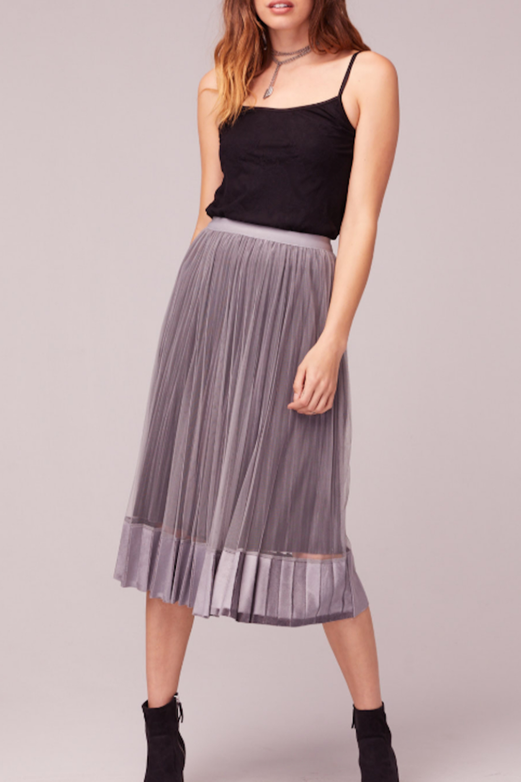 Band Of Gypsies Tiny Dancer Skirt - Front Cropped Image