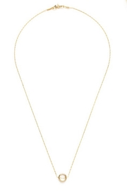 Amano Trading, Inc. tiny gold ring necklace - Product Mini Image