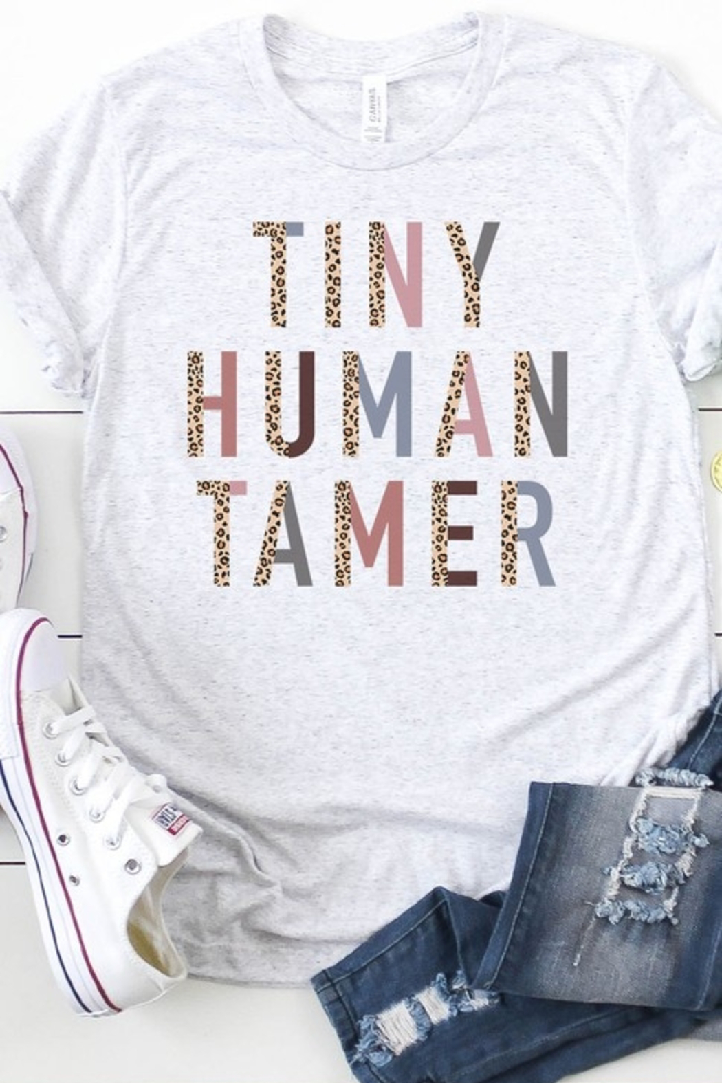 kissed Apparel Tiny Human Tamer graphic tee - Main Image