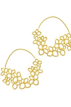 Daphne Olive Tiny Hydrangea Hoops - Alternate List Image