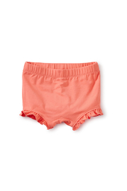 Tea Collection Tiny Ruffled Baby Bloomers - Sunset Pink - Product Mini Image
