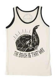 TINY WHALES Beach This Way Tank - Product Mini Image