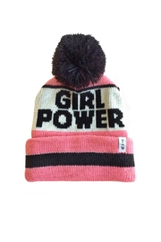 TINY WHALES Girl Power Beanie - Product Mini Image