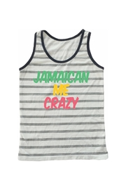 TINY WHALES Jamaican Me Tank - Front cropped