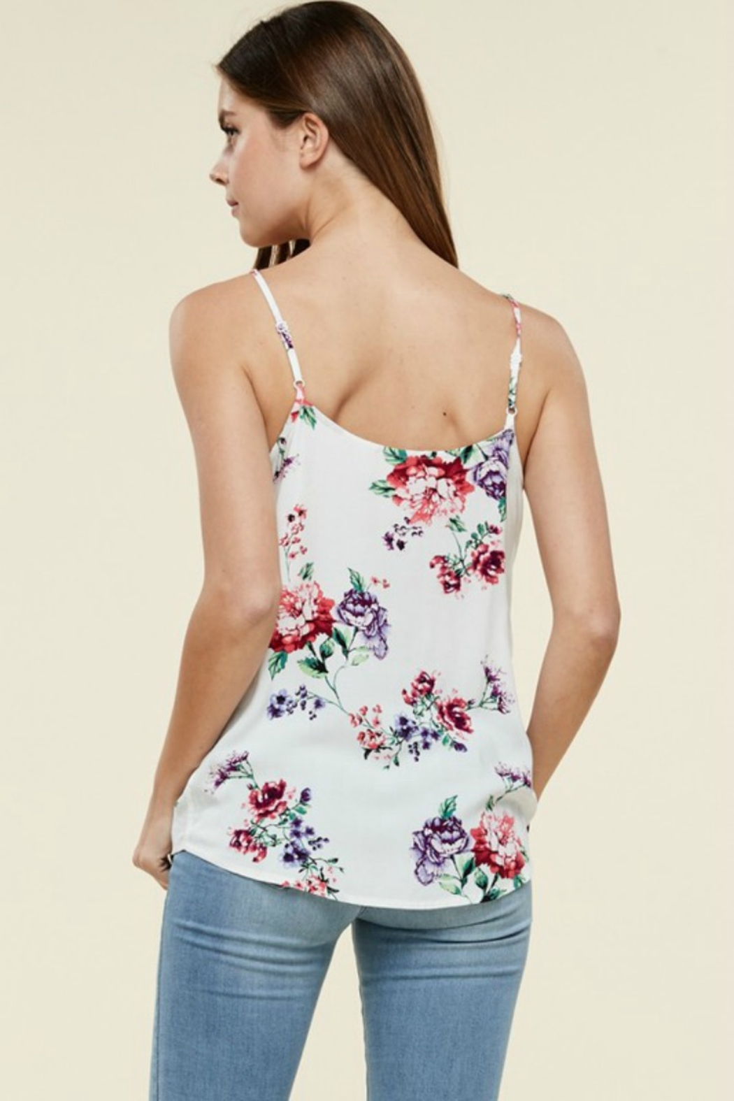 Staccato TIPSY TANK - Back Cropped Image