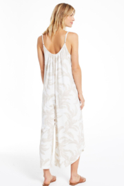 z supply Tira Palm Flared Jumpsuit - Side cropped
