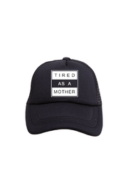 Tiny Trucker Tired As A Mother Trucker Hat - Product Mini Image