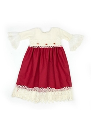 Haute Baby Tis-The-Season-Holiday-Layette-Gown - Front full body