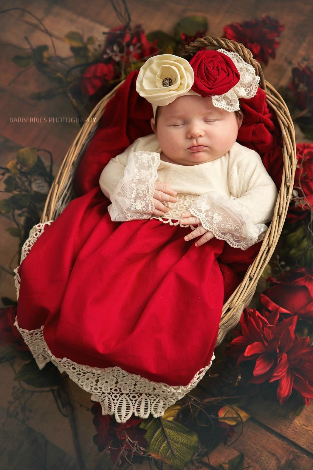 Haute Baby Tis-The-Season-Holiday-Layette-Gown - Main Image