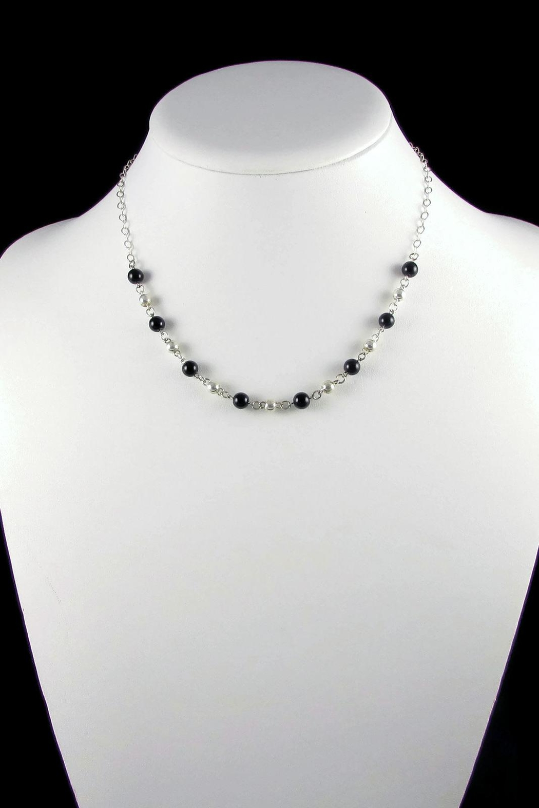 Tis tiK Bolitas Gemstone Necklace - Side Cropped Image
