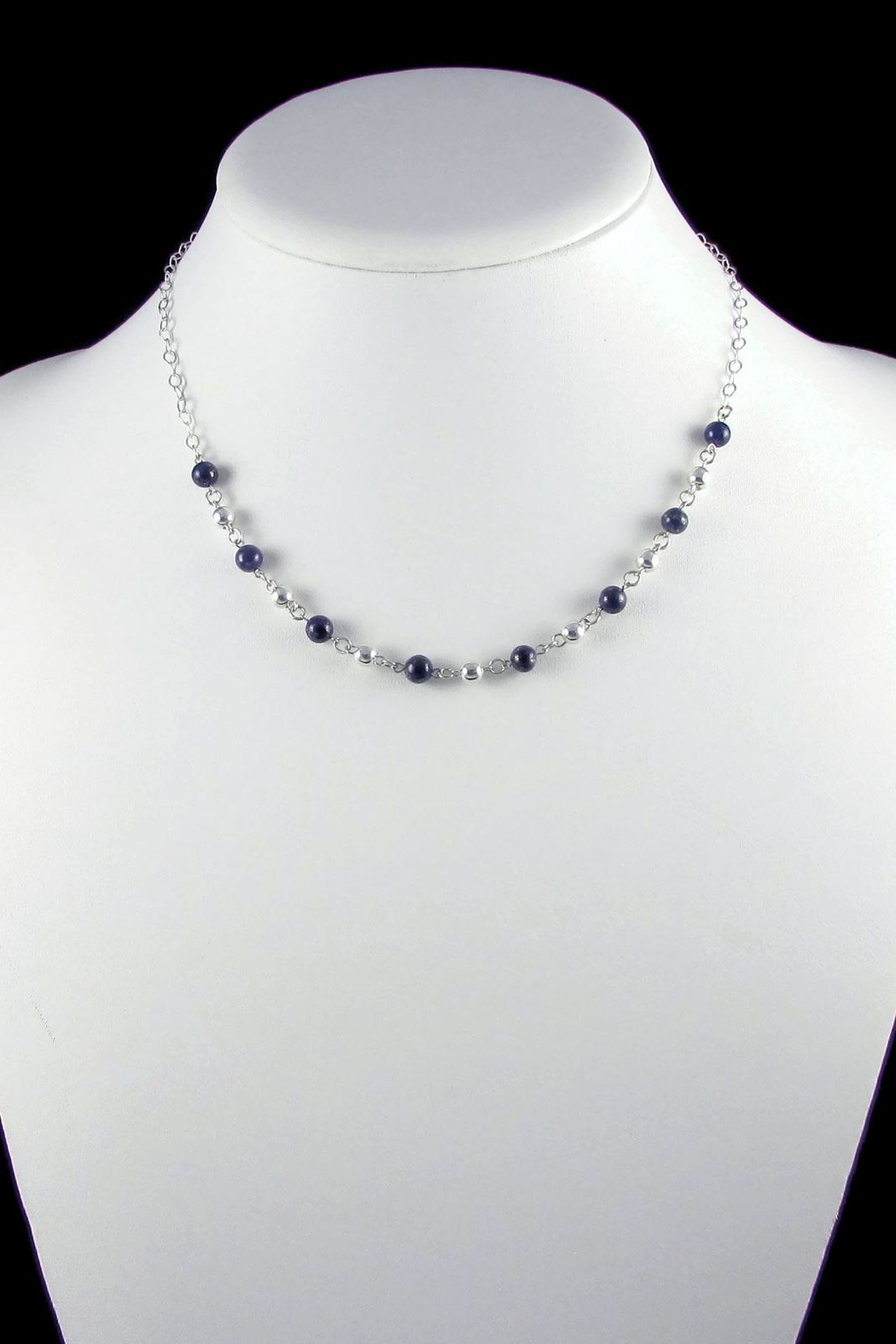 Tis tiK Bolitas Gemstone Necklace - Front Full Image