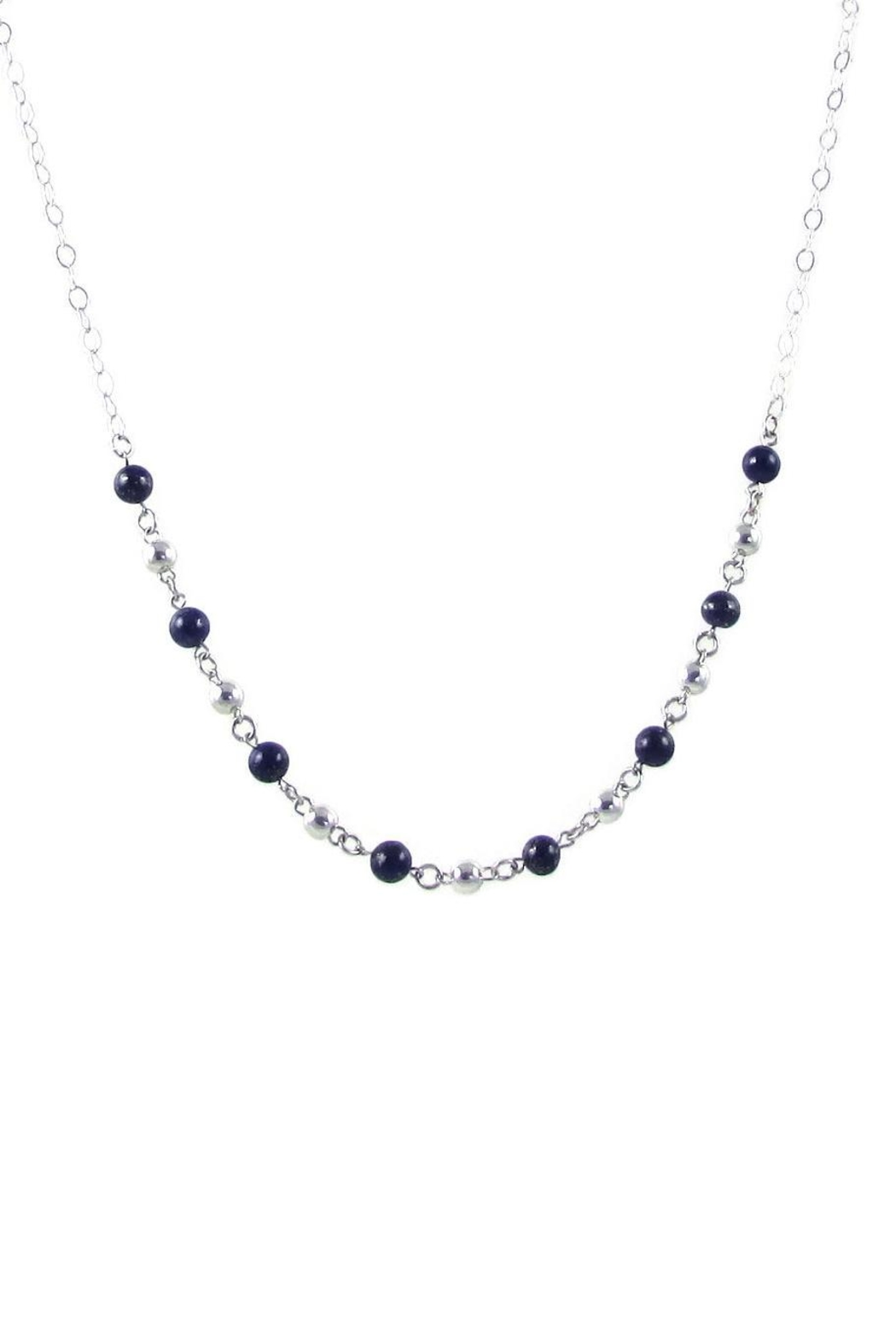 Tis tiK Bolitas Gemstone Necklace - Front Cropped Image