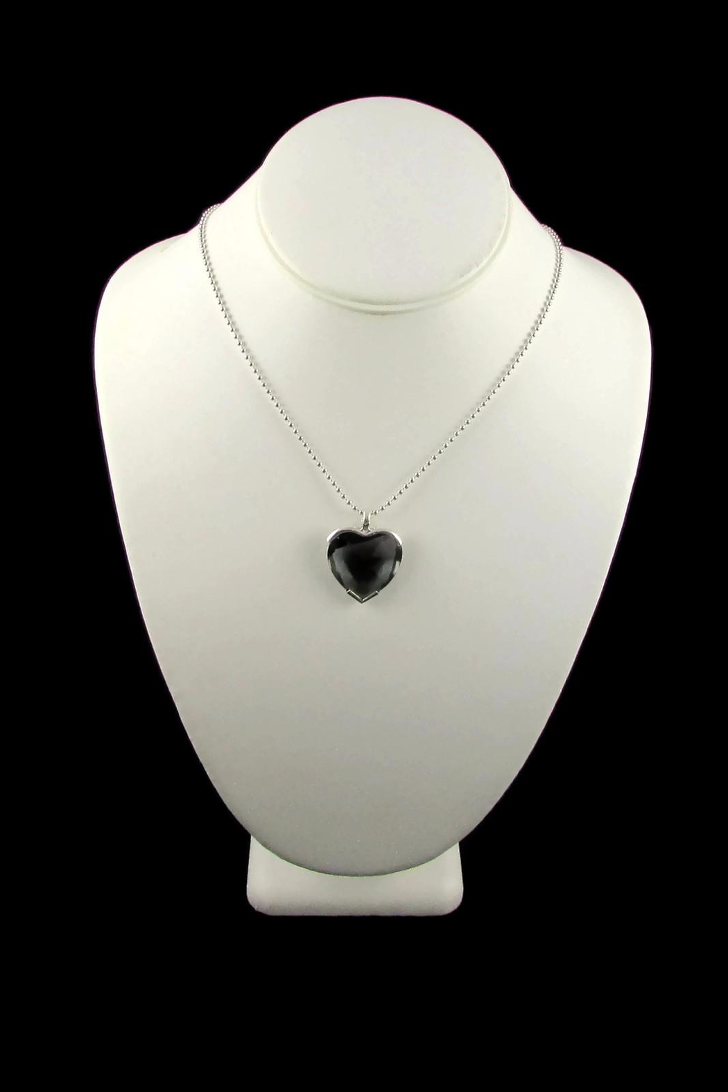 Tis tiK Heart Crystal Pendant - Side Cropped Image