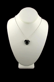 Tis tiK Heart Crystal Pendant - Side cropped