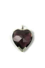 Tis tiK Heart Crystal Pendant - Product Mini Image