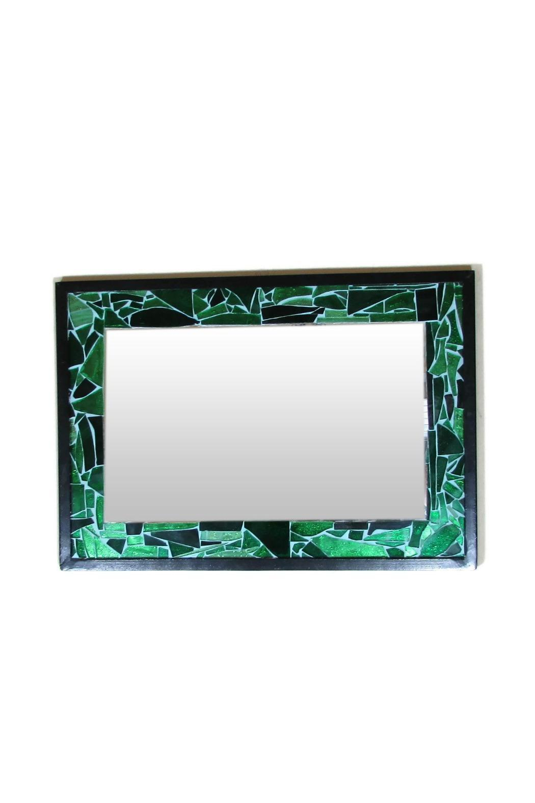 Tis tiK Recycled Glass Mirror - Front Cropped Image