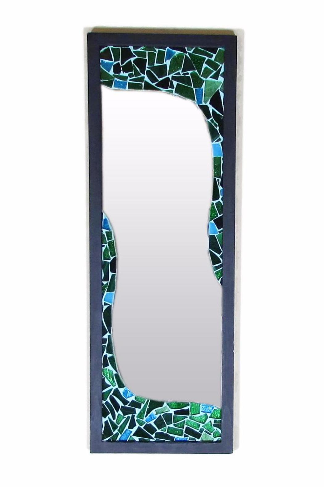 Tis tiK Recycled Glass Mirror - Main Image