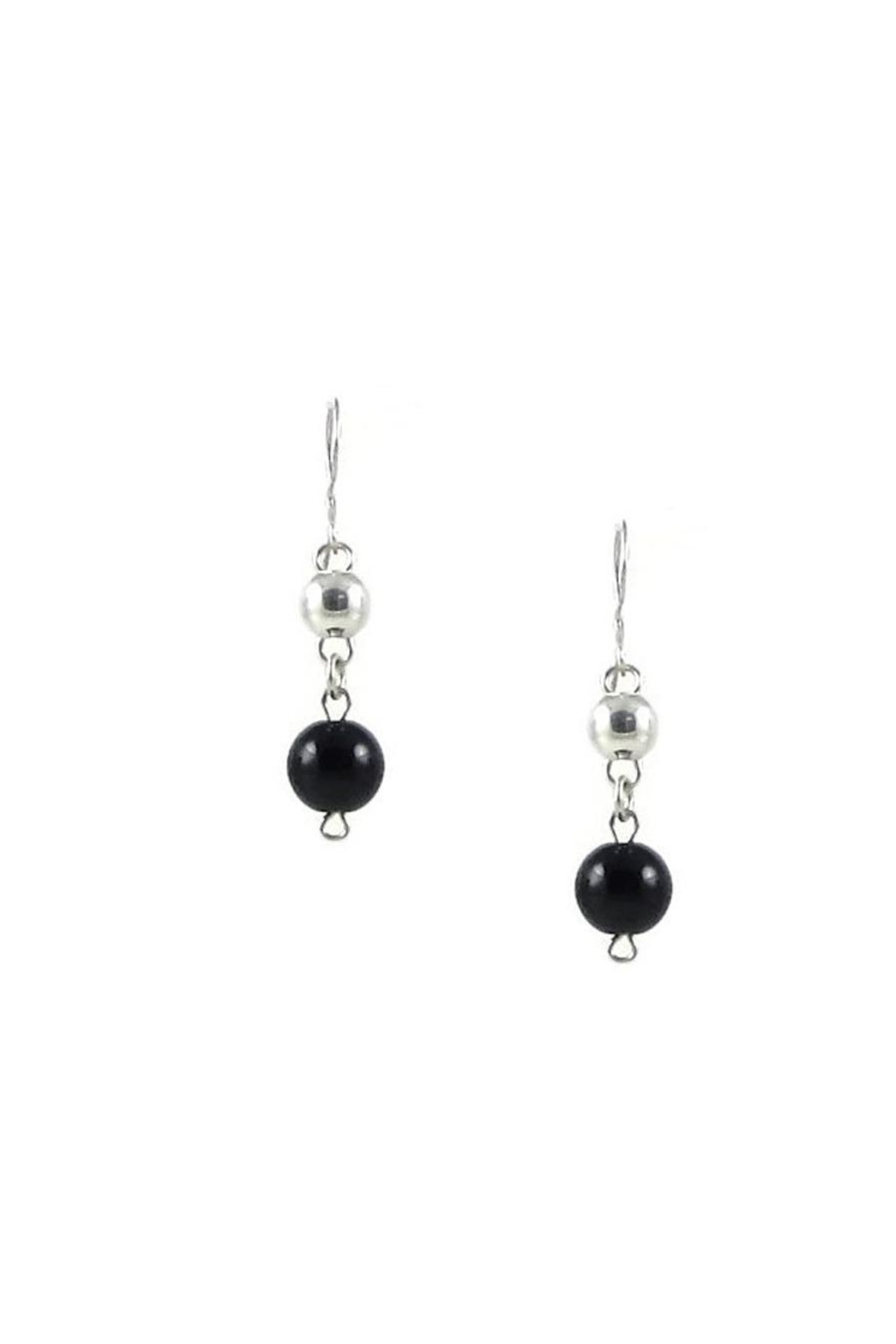 Tis tiK Small Bolitas Earrings - Front Cropped Image