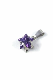 Tis tiK Star CZ Pendant - Front full body