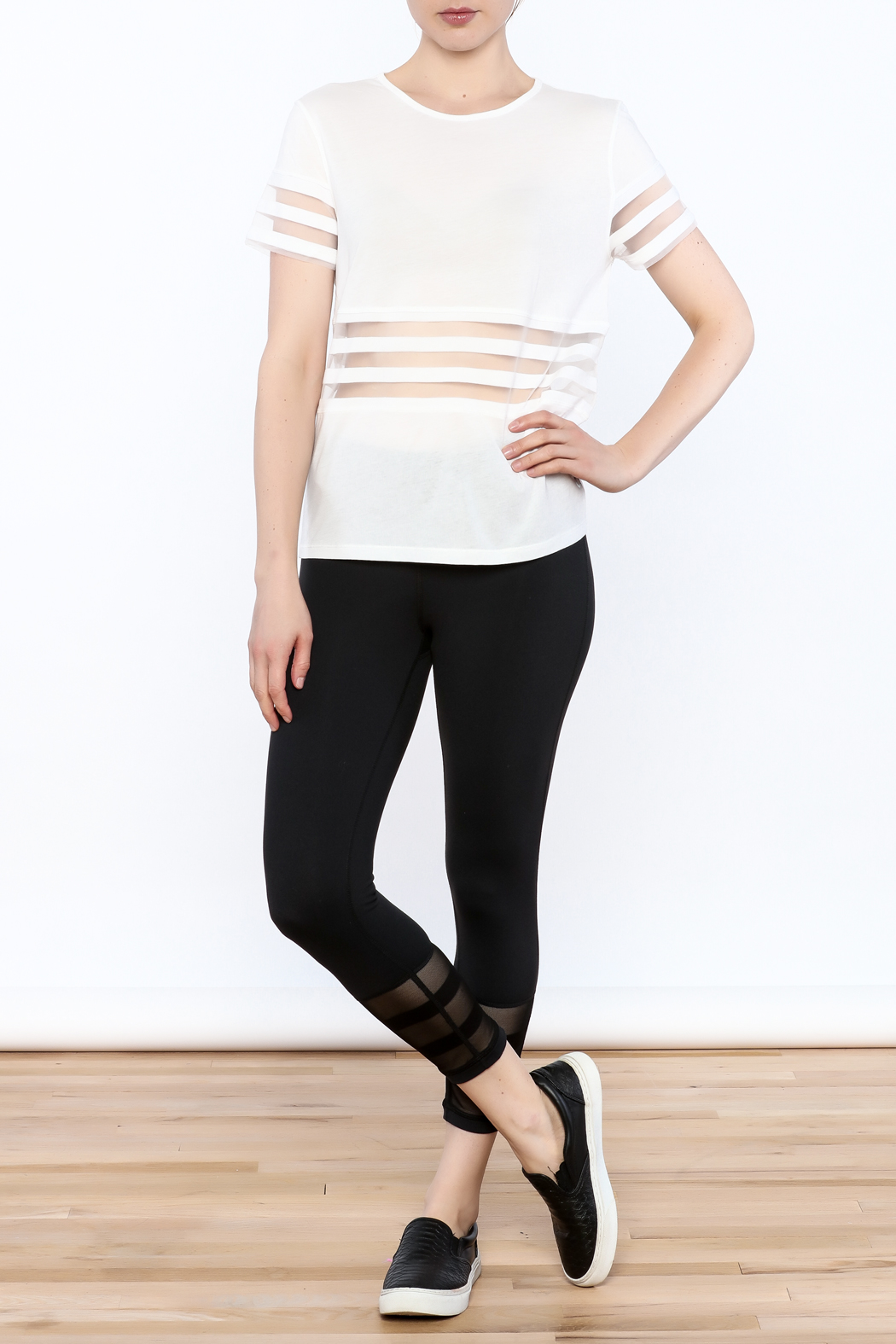 Titika Active Couture Bandit T-Shirt - Side Cropped Image