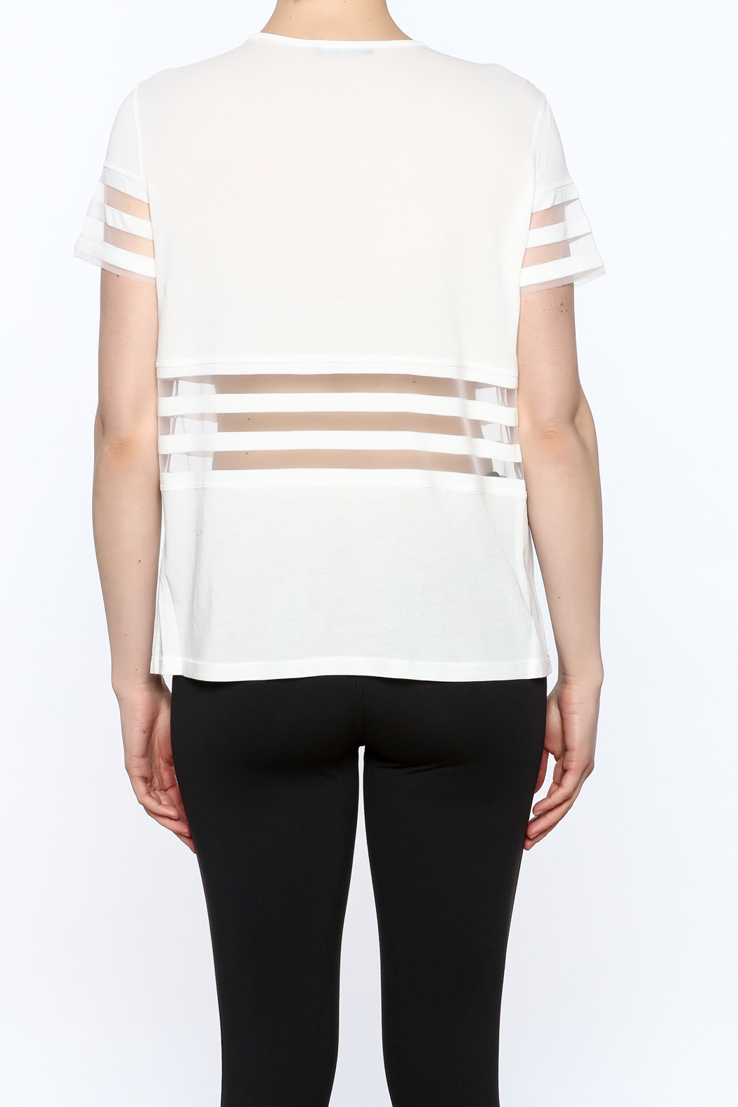 Titika Active Couture Bandit T-Shirt - Back Cropped Image