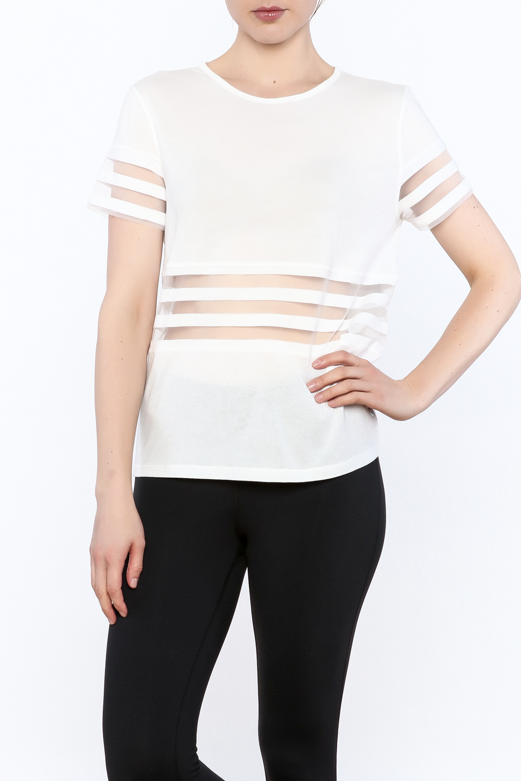 Titika Active Couture Bandit T-Shirt - Front Cropped Image