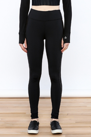 Titika Active Couture Dipsi Mesh Leggings - Front full body