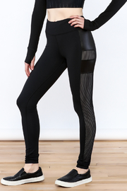 Titika Active Couture Dipsi Mesh Leggings - Front cropped