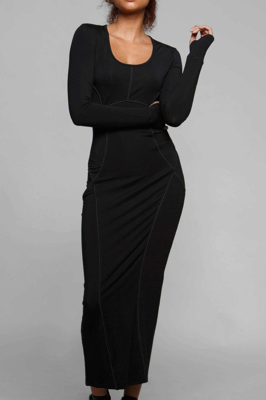 Titika Active Couture Camilia Maxi Dress - Front Cropped Image
