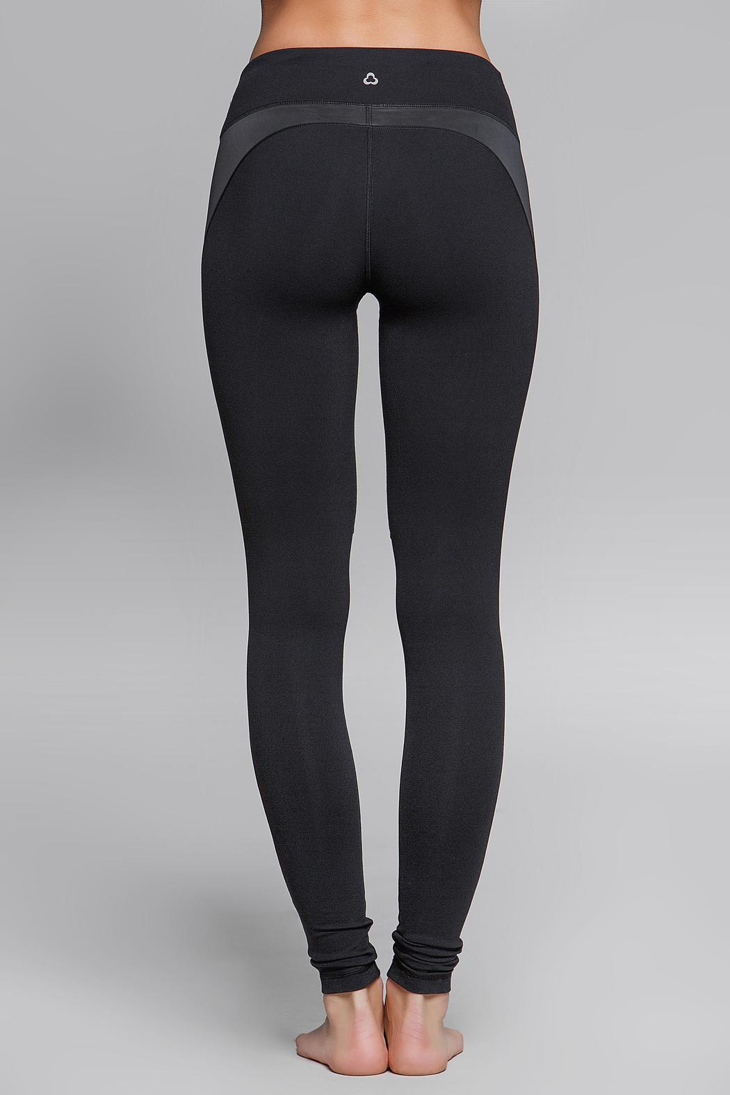 Titika Active Couture Eclipse Reflective Legging - Back Cropped Image