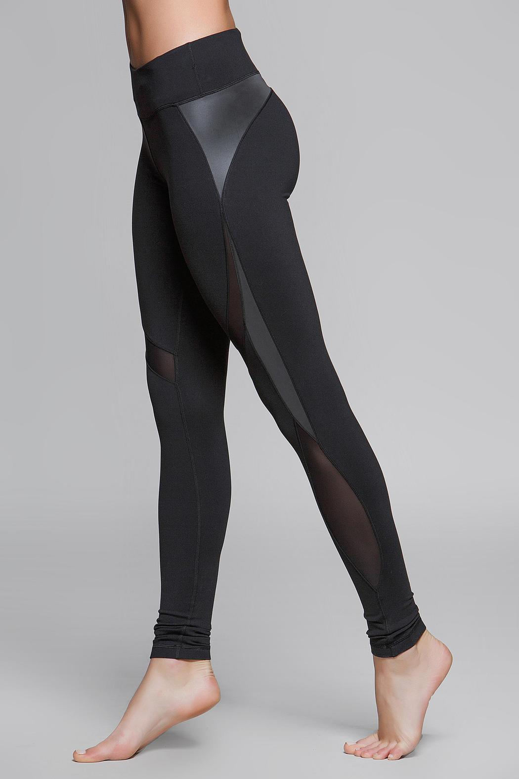 Titika Active Couture Eclipse Reflective Legging - Side Cropped Image