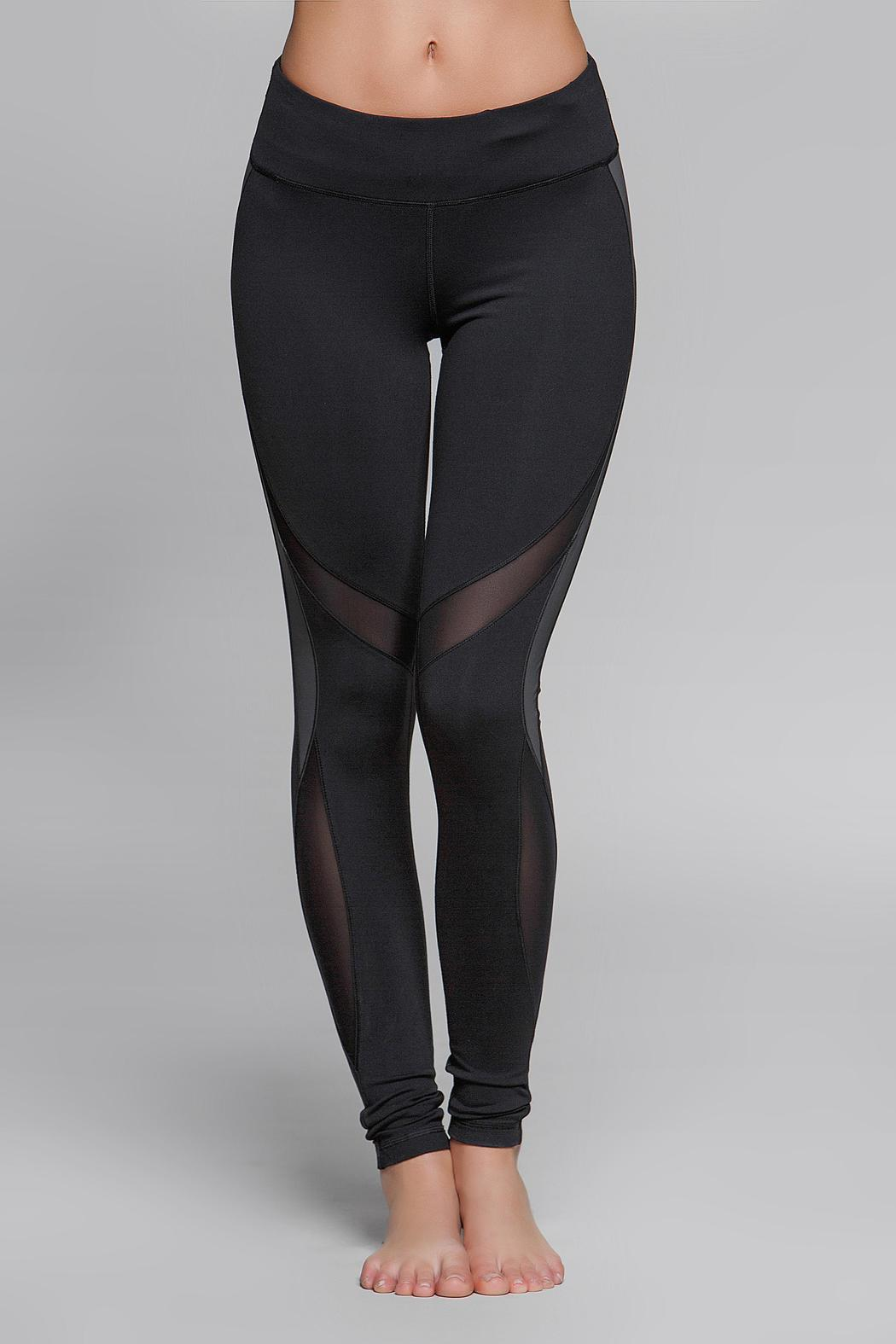 Titika Active Couture Eclipse Reflective Legging - Front Full Image