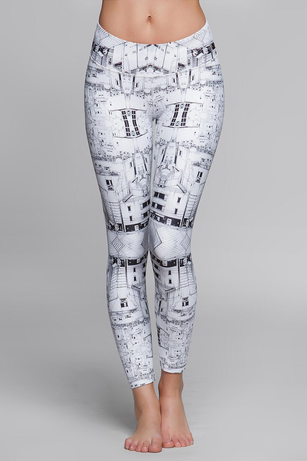 Titika Active Couture Graphic Cropped Legging - Main Image