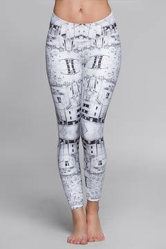 Titika Active Couture Graphic Cropped Legging - Product List Image
