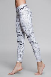Titika Active Couture Graphic Cropped Legging - Front full body