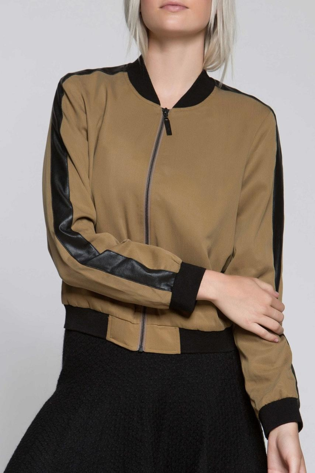 Titika Active Couture Petal Bomber Jacket - Main Image