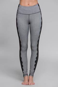 Titika Active Couture Scalloped Performance Legging - Product List Image