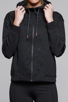 Titika Active Couture Stud Neoprene Hoodie - Product List Image