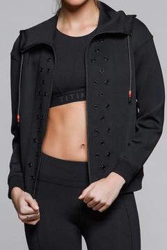 Titika Active Couture Stud Neoprene Hoodie - Alternate List Image