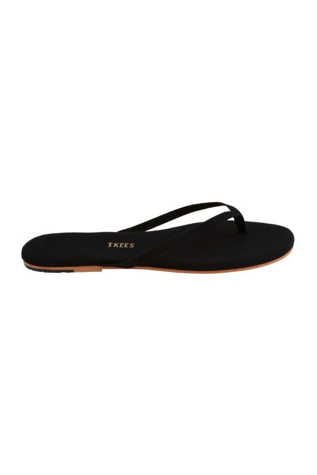 Tkees Lily Suede Sandals - Front Full Image