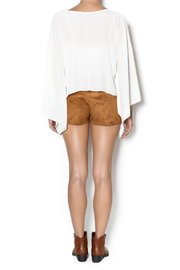 t.l.b.d. Olivia Fringe Shorts - Side cropped