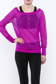TLF Apparel Sheer Long Sleeve - Front cropped