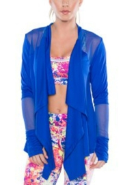 TLF Apparel Sheer Performance Cardigan - Product Mini Image