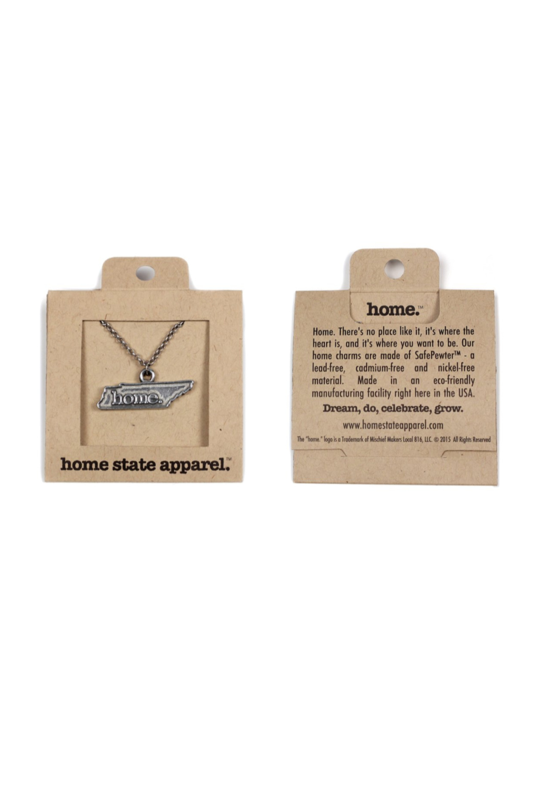 Home State Apparel TN Home Necklace - Main Image