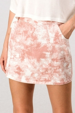 Trend Notes  To Dye For Mini Skirt - Product List Image