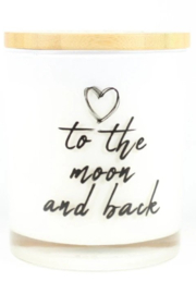 Unplug Soy Candles To the Moon & Back Candle - Front cropped