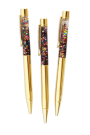Packed Party To The Point Confetti Pen Set - Product Mini Image
