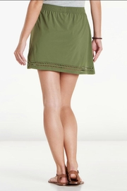 Toad & Co. Laser-Cut Sunkissed Skort - Front full body